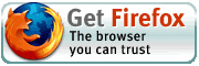 Firefox.. the browser we can trust !
